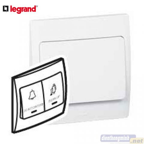 "Công tắc 2 nút gồm nút ""Do not disturb""/""Clean up""  LEGRAND - 2 810 46"